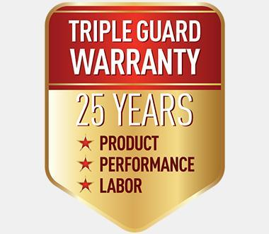 Panasonic Triple Guard Warranty Logo