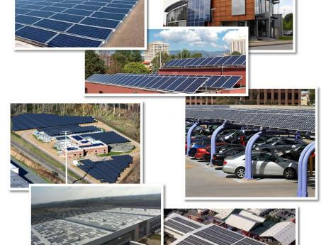Mashup of Solar Projects Completed by Five Star Solar