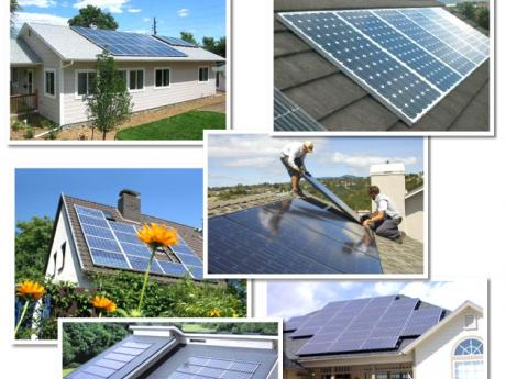 Mashup of Solar Projects Completed by Five Star Solar 2